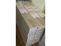 HOWDENS GREY WOOD EFFECT LAMINATE FLOORING (price per square metre)