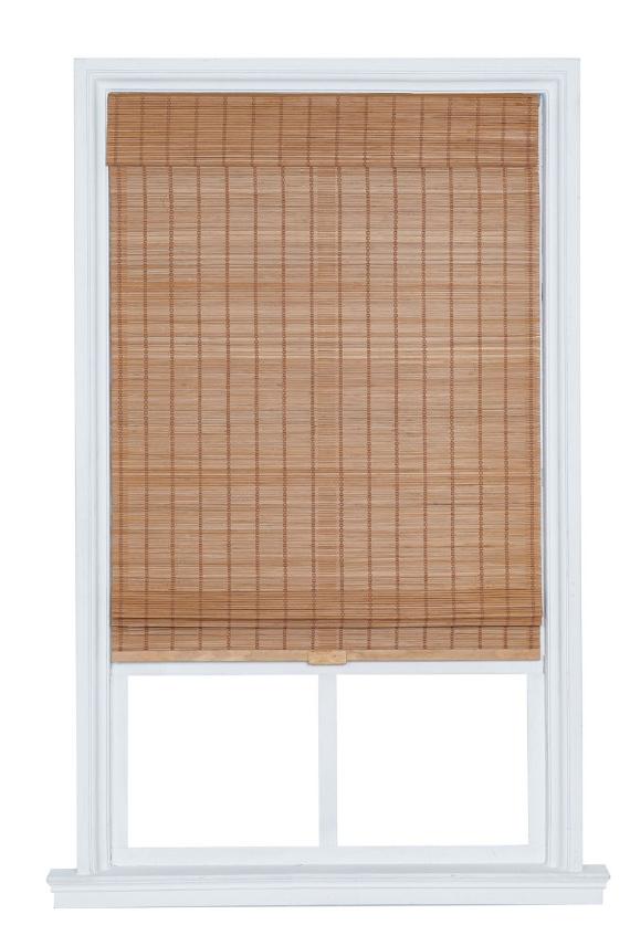Bria Bamboo Cordless Light-Filtering Roman Shade - 4 Colors