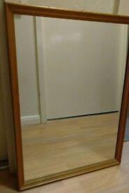 Pine frame mirror (unvarnished) £8