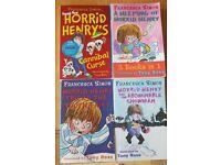 Horrid Henry set of 4 paperbacks