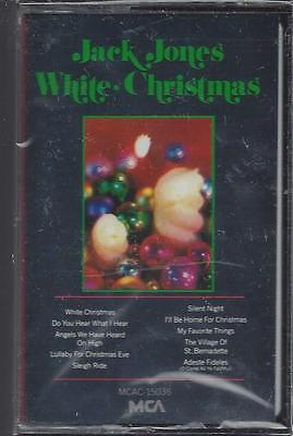 JACK JONES WHITE CHRISTMAS SLEIGH RIDE  I'll Be Home For Christmas NEW CASSETTE for sale  Shipping to India