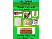 Urgently Wanted Furniture & Small Electrical Items In Good Condition