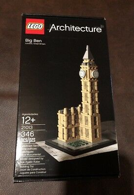 LEGO Architecture Big Ben (21013) Brand New NISB