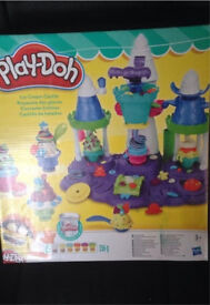 Play Doh Ice cream castle set Brand new in box