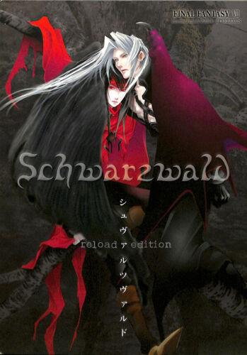 Final Fantasy 7 VII Doujinshi Comic Book Sephiroth x Vincent Schwarzwald Reload