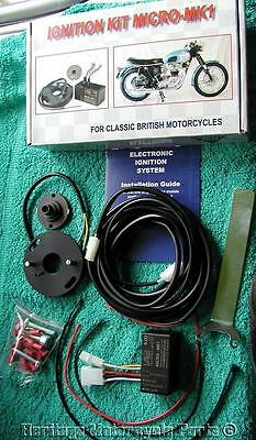 new WASSELL12v ELECTRONIC IGNITION 12 volt-BSA TRIUMPH NORTON singles+twins mk1