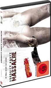 DVD - Sorority Party Massacre - NEU - FSK 18 (U8) - Deutschland - Rücknahmen akzeptiert - Deutschland