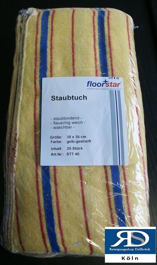 Floorstar Staubtuch STT35   35*35 cm  5 Tücher