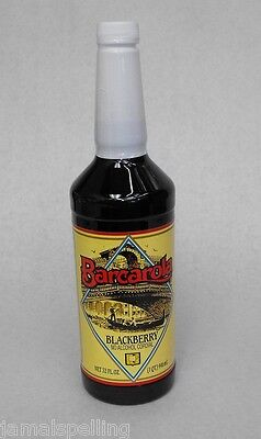 Gourmet Blackberry Syrup 32oz. Coffee Drink Italian Soda Flavor