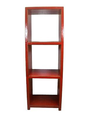 Купить A Pair of Chinese Beautiful Wooded Red Bookcase bookshelf display cabinet