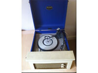 1950-1960's Dansette Record Player