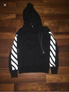Off White Sweater Hoodie Small-Medium Fit