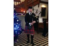 Experienced Bagpiper for Hire - weddings, parties, funerals etc