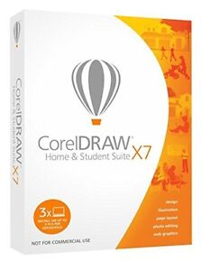 CorelDraw x7 Home & Student Suite