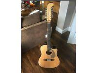 Fender Villager 12 String electro-acoustic guitar