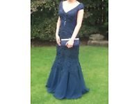 Navy formal dress, size 8