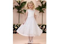 Joan Calabrese designer holy communion/flower girl dress (brand new with tags)