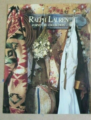 Ralph Lauren Ad Furniture Collection (Santa Fe) 1980s  Original/Magazine/Print