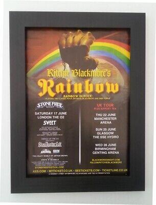 Ritchie Blackmore..Deep Purple /& Rainbow Guitar God Retro Poster A1A2A3A4Sizes