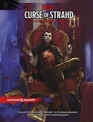 Curse of Strahd - Dungeons and Dragons RPG 5th edition - New