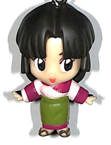 InuYasha Keychain Mascot Figure Figurine Charm Inuyasha Swing 2 Sango