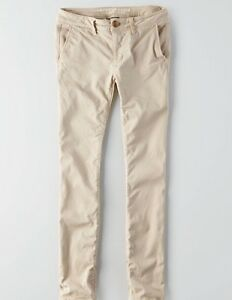AMERICAN EAGLE SKINNY TWILL PANTS-LIKE NEW!