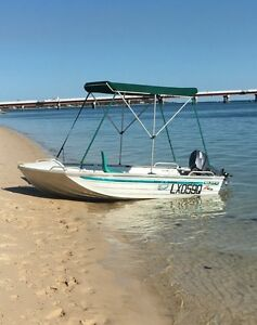 Seajay Bass & Barra Tinny with 25hp Yamaha Buddina Maroochydore Area Preview