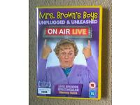 MRS BROWNS BOYS, LiVE ON AiR - DVD