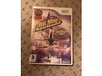 Wii fit all star cheerleader game