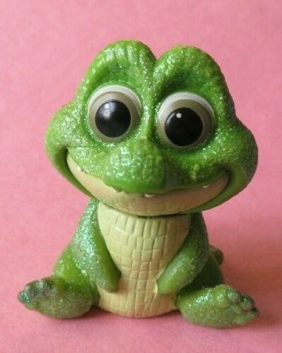 Disney ANIMATORS Tinkerbell doll glitter BABY TICK TOCK  CROC figure  Peter Pan