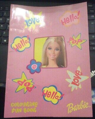 Barbie 2002 Colouring Book - Vintage