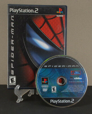 SPIDERMAN Sony PlayStation 2 video game w Case PS2 Activision