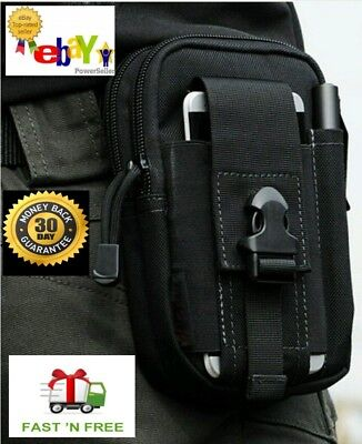 Concealed carry waist pack holster for compact 9mm & 380 subcompact pistols guns