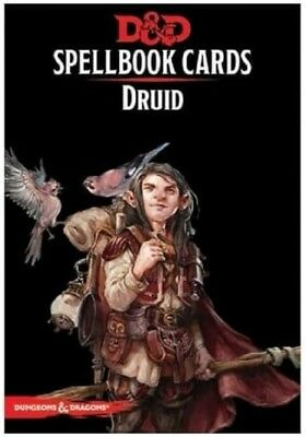 Dungeons and Dragons Druid Spellbook Cards  - new 2017 edition for D&D 5e