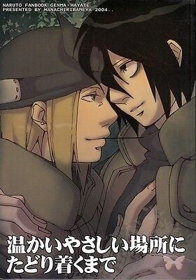 Naruto YAOI Doujinshi Dojinshi Comic Genma x Hayate Until We Find Somewhere Nice
