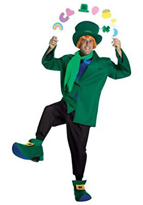 OFFICIAL LUCKY CHARMS COMIC ADULT HALLOWEEN COSTUME MEN'S ONE SIZE FITS MOST (Lucky Charms Costumes)