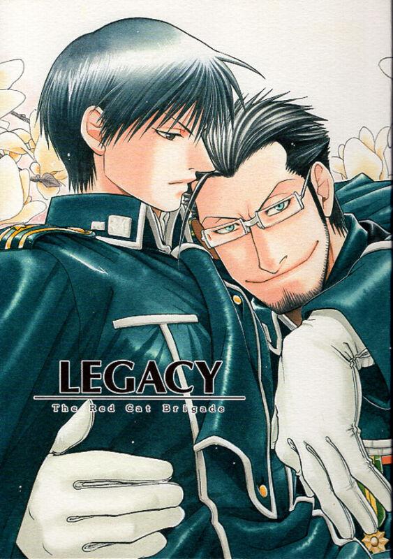 Fullmetal Alchemist Doujinshi Comic Maes Hughes x Roy Mustang Legacy BL