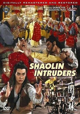 SHAOLIN INTRUDERS---Hong Kong RARE Kung Fu Martial Arts Action movie - NEW DVD