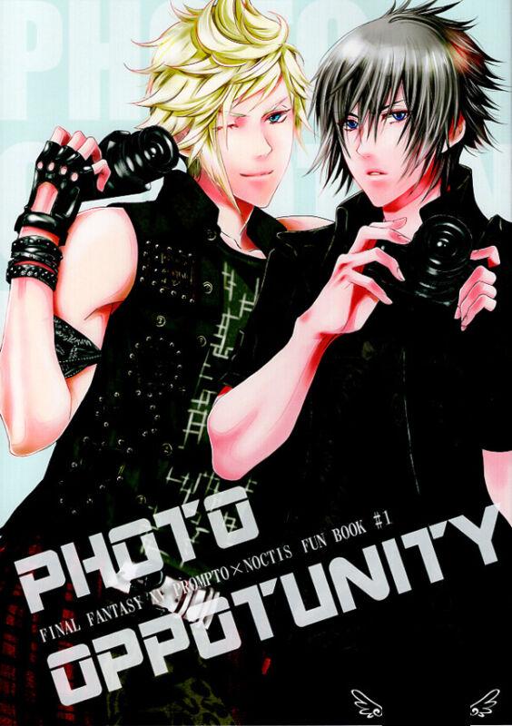 Final Fantasy 15 XV Doujinshi Comic Book Prompto x Noctis Photo Oppotunity