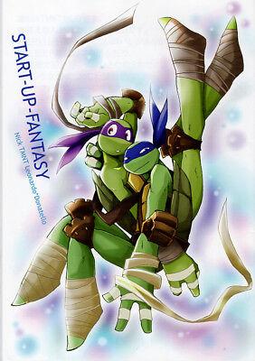 Teenage Mutant Ninja Turtles TMNT YAOI Doujinshi Comic Leonardo x Donatello Star](Ninja Stars Paper)