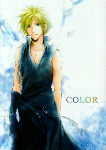 Final Fantasy 7 VII Doujinshi Comic Book Rufus Shinra x Cloud Strife Color