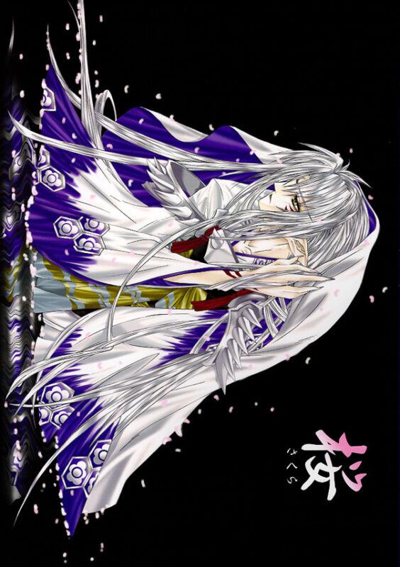 InuYasha ENGLISH Translated Doujinshi Comic Sesshomaru x Rin Cherry Blossoms