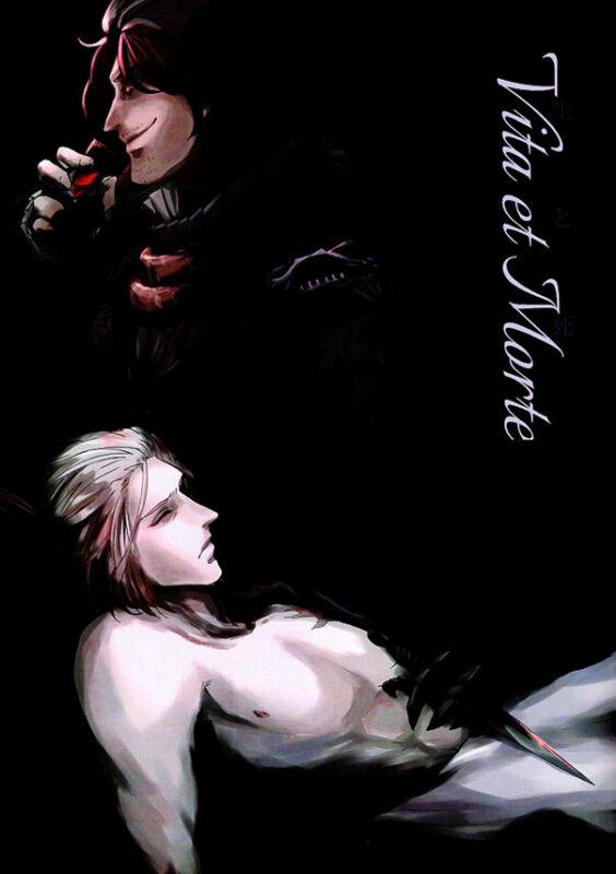 Final Fantasy 15 XV Doujinshi Comic Book Ardyn x Ravus Vita et Morte