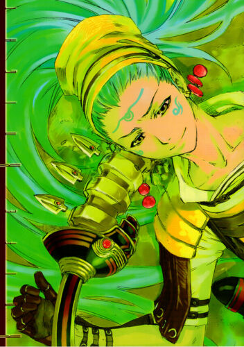 .hack .hack//G.U. Doujinshi Comic Book Kuhn x Haseo Knife Knight / PRANK
