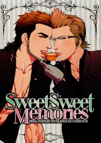 Final Fantasy 15 XV Doujinshi Comic Book Gladiolus / Gladio x Ignis Sweet Memori