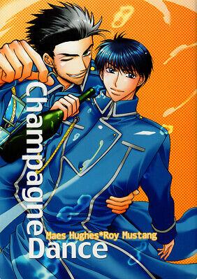 Fullmetal Alchemist Doujinshi Comic Book Maes Hughes x Roy Mustang Champagne Dan