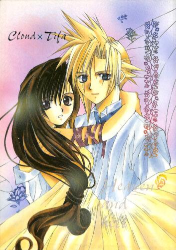 Final Fantasy 7 VII ENGLISH Translated Doujinshi Comic Book Cloud x Tifa Heaven