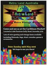 Retro Land @ the Caribbean Market! Games, Consoles, Accessories Scoresby Knox Area Preview