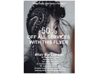 Afro Hairdressing in Hornsey/Crouch End/Finsbury Park/Tottenham