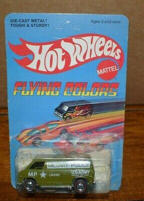 HOTWHEELS 1975 FLYING COLORS REDLINE KHAKI KOOLER,UNPUNCHED